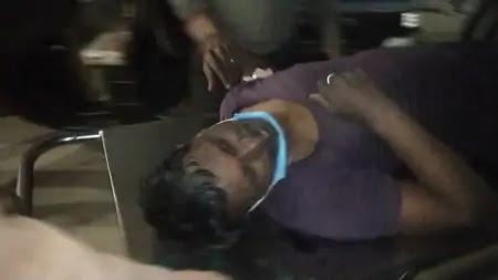 विवेकनगर कॉलोनी में शनिवार रात एक प्लाट में मिट्टी गिराने के दौरान युवक को मारी गोली