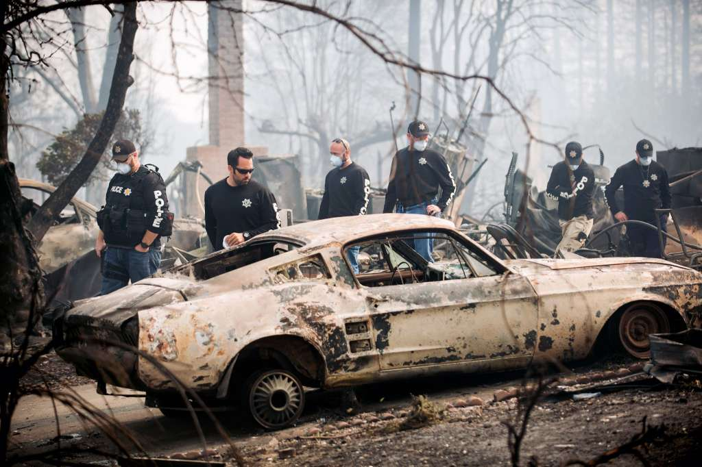 Just A Car Guy: Some cars were lost in the Santa Rosa fire