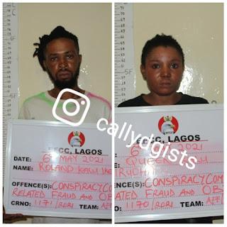 Blood Siblings Arrested Over Yahoo-Yahoo Crime In Lagos - EFCC