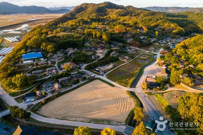 หมู่บ้านวัฒนธรรมยางดง (Yangdong Folk Village: 경주양동민속마을)