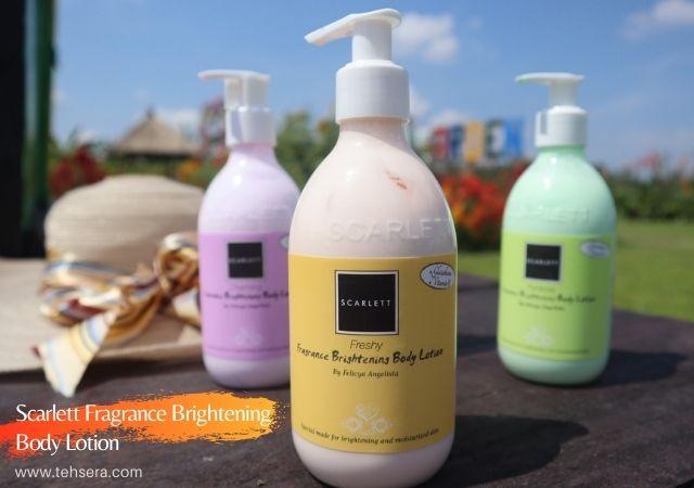 [New] Scarlett Fragrance Brightening Body Lotion Freshy