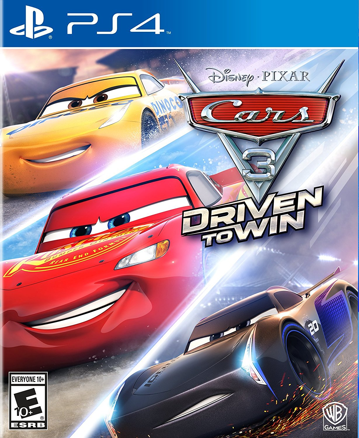 new games cars 3 driven to win ps4 ps3 xbox one xbox 360 switch wii u the. Black Bedroom Furniture Sets. Home Design Ideas
