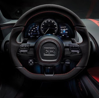 design cabin and interior bugatti chiron sport
