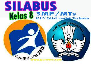 Silabus PAI K13 Kelas 8 Semester 1 dan 2 Edisi Revisi 2020