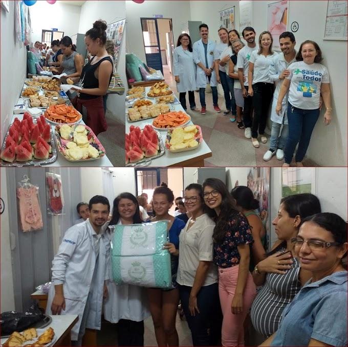 Equipe de Saúde da Família do Bairro Rio Verde realiza evento para gestantes