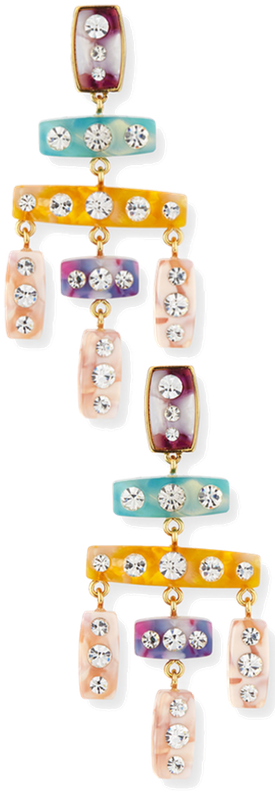 BaubleBar Alyssandra Drop Earrings in Multi