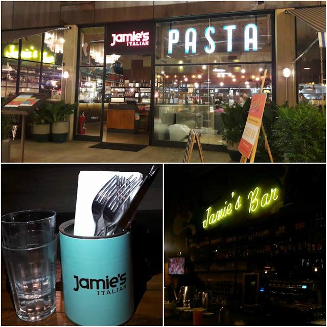Onde comer em Campinas? Jamie´s Italian
