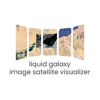 App details page: Liquid Galaxy Image Satellite Visualizer