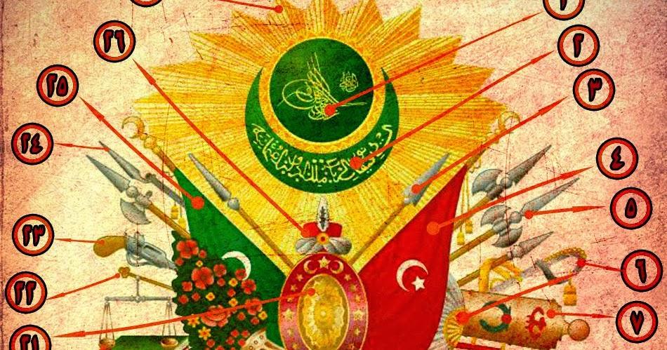 الدولة العثمانية Photo: الدولة العثمانية: شرح درع الدولة العثمانية