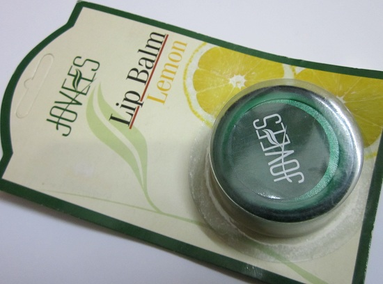 Jovees Lip balm Lemon review