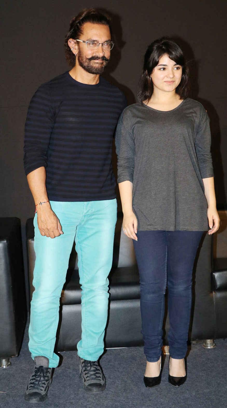 Aamir Khan Launches Trailer of Secret Superstar Film