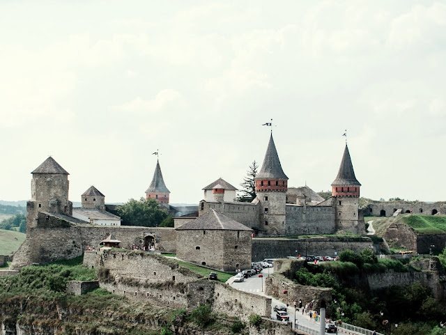 ucrânia castelo Kamianets Podilskyi