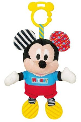 Disney Baby Mickey Basic Plush Rattle ©Disney