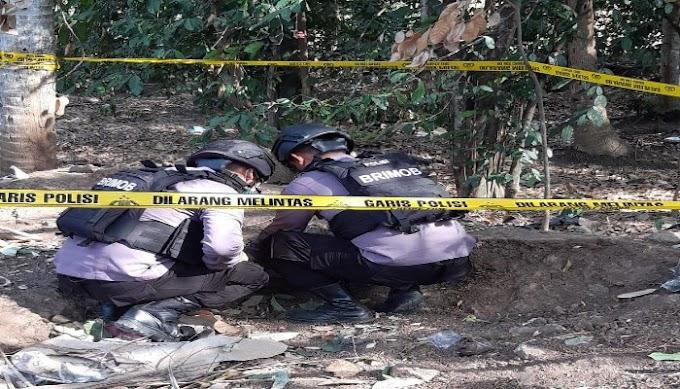 Unit Jibom Satbrimobda Banten, Amankan Proyektil Aktif di Kelurahan Mekarsari Pulomerak