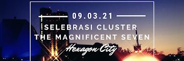 Selebrasi Hexagon City : Cluster The Magnificent Seven