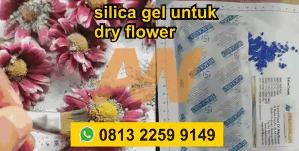 Jual Silica Gel untuk Bunga