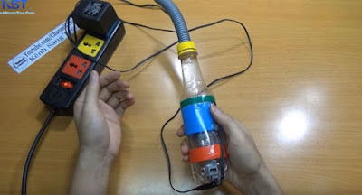 Cắm điện và sử dụng máy hút bụi
