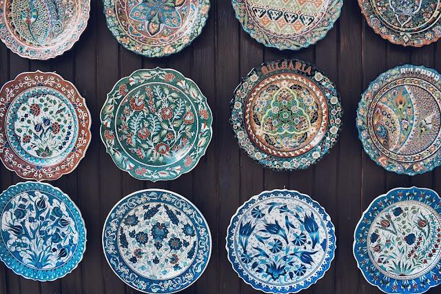 Pawie Oczka - Ceramika Bułgarska