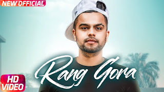 RANG GORA SONG LYRICS | AKHIL |  BOB | New Song 2018 | Speed Records