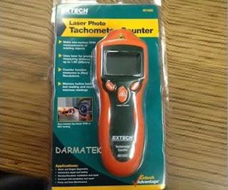 Darmatek Jual Extech 461920 Mini Laser Photo Tachometer