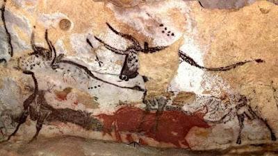 scene della grotta di Lascaux storia dell'arte rupestre preistoria paleolitico
