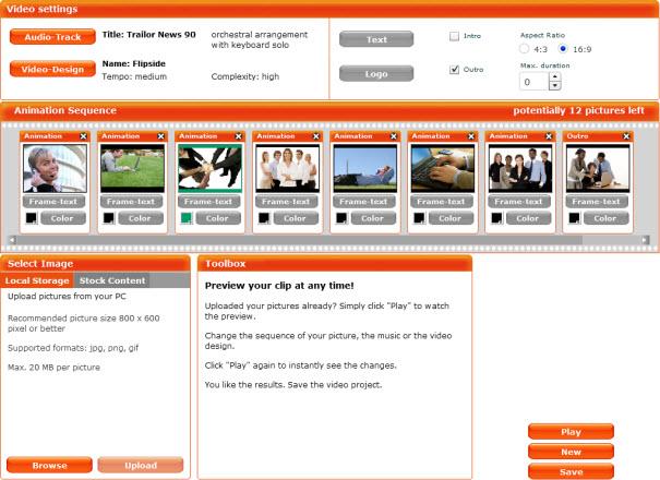 clipgenerator, 5 website Terbaik untuk Membuat Presentasi Video Online