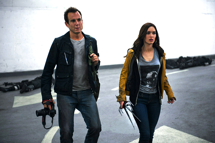Will Arnett şi Megan Fox în Teenage Mutant Ninja Turtles