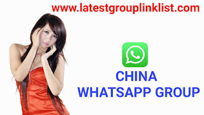 Join 1000+ China Latest Whatsapp Group Link List 2020