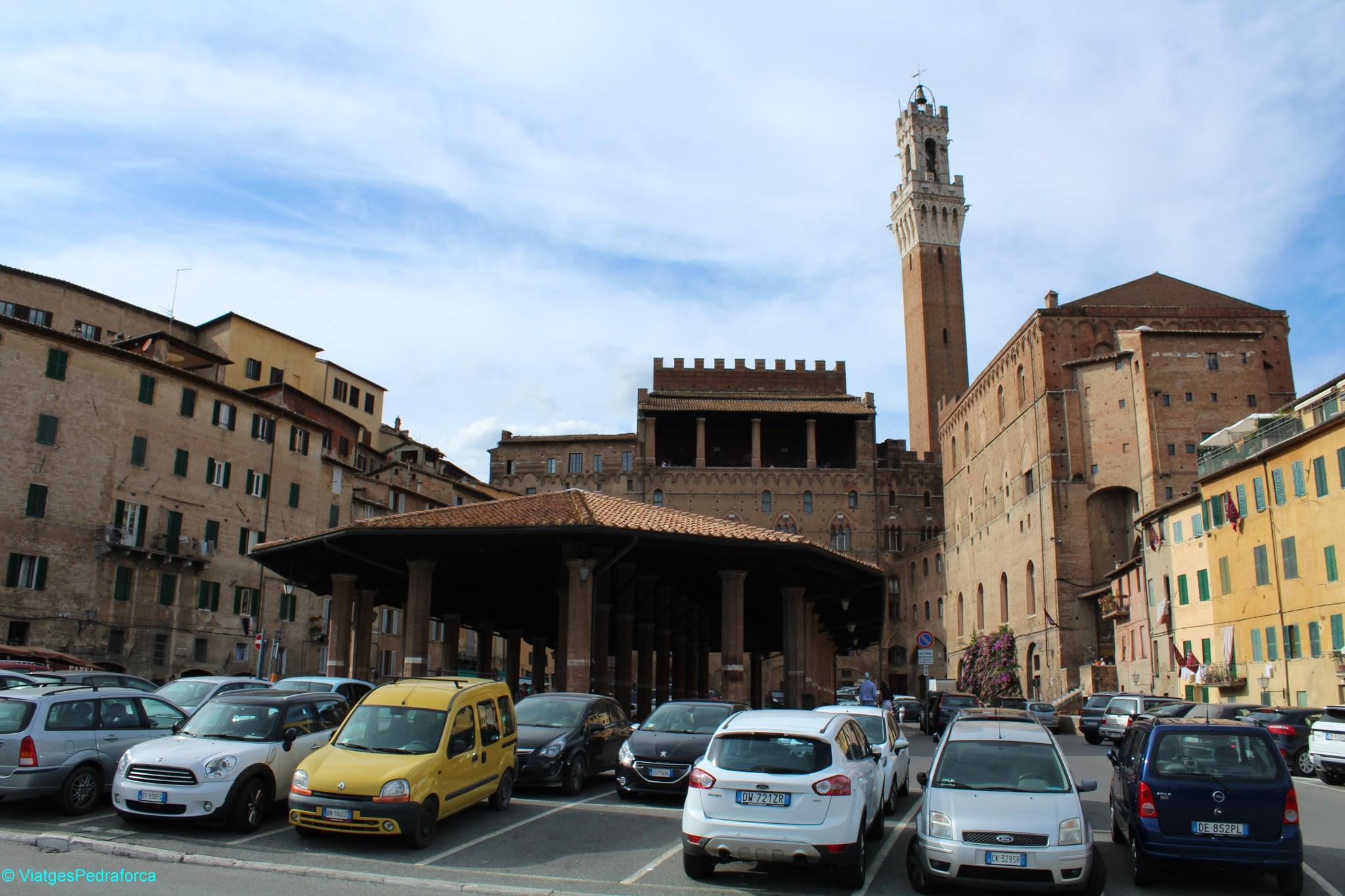 Siena, Toscana, Italia, blog de viatges