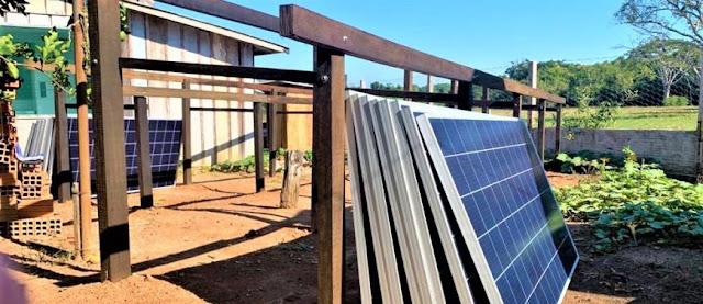Base de Laranjeiras do Parque Estadual de Corumbiara recebe placas de energia solar por meio de compensação ambiental