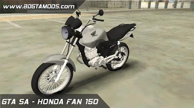 HONDA FAN 150 MIX 2011 para GTA San Andreas