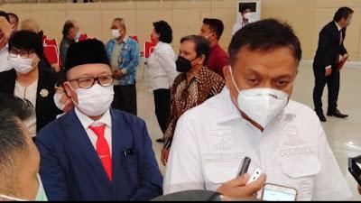 Lucky Rumopa Resmi Dilantik Gubernur Olly Dondokambey Pimpin FKUB Sulut.