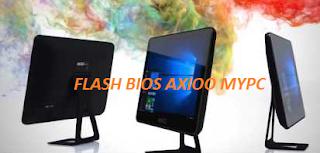 CARA FLASH BIOS AXIOO MYPC