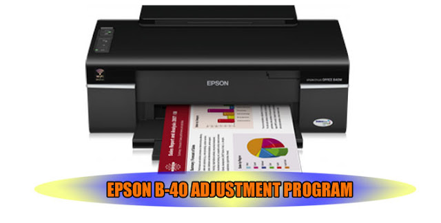 EPSON B-40 ADJUSTMENT PROGRAM