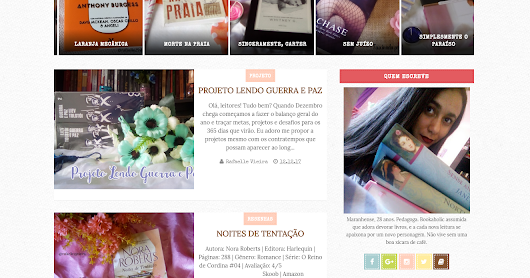 {Blog Design} Fascinada por Histórias