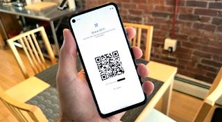 Android 12 DP 1 Berbagi Wi Fi