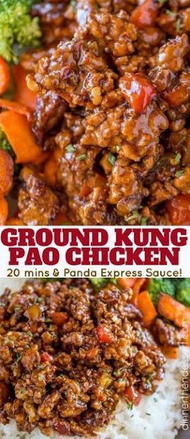 Ground Kung Pao Chicken