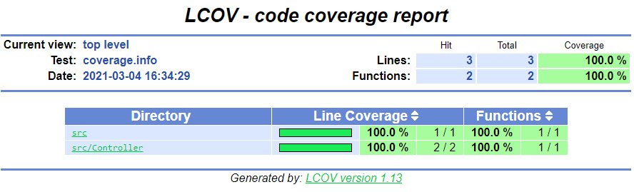 Kahlan: getting it working with Symfony 5 and generating a code coverage report