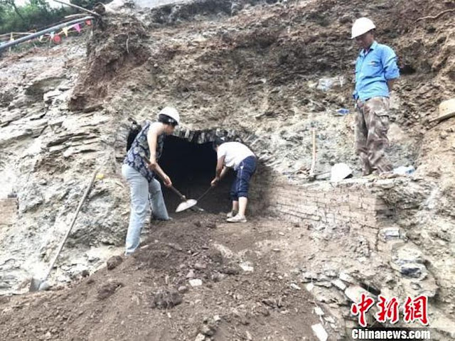 2,000-year-old tomb complex discovered in central China