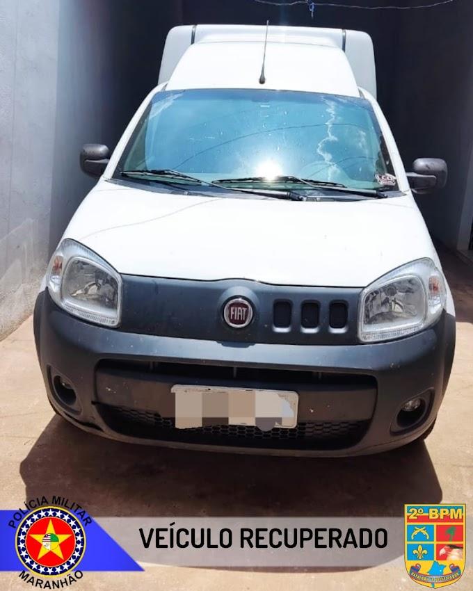 Força Tática recupera veículo com restrição de roubo no Bairro Mutirão durante Operação Cidade Segura em Caxias-MA