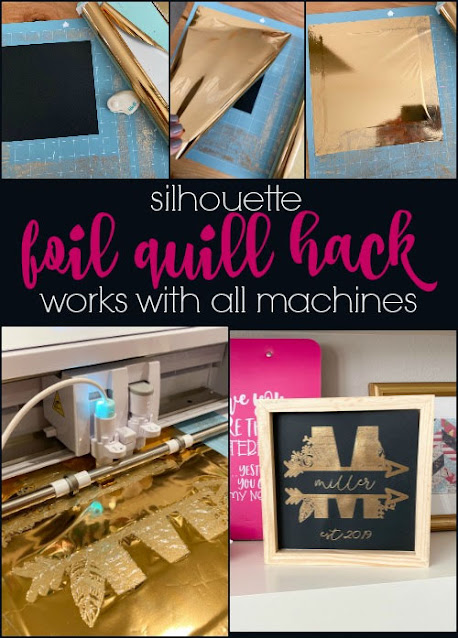 silhoeutte 101, silhouette america blog, foil quil, foil quill silhouette, foil quill designs