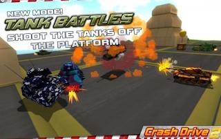 تحميل لعبة السباقات 3D Crash Drive 2: car simulator مهكرة للاندرويد