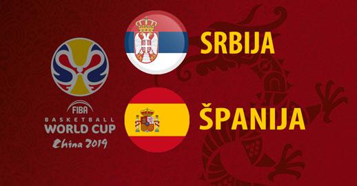 Svetsko prvenstvo u košarci: Srbija - Španija UŽIVO PRENOS