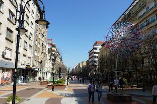Sofía, Bulevar Vitosha.