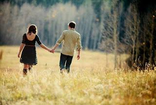 poème d'amour avec image romantique