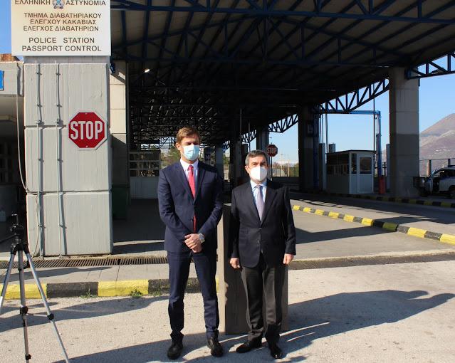 Κέντρο Επαφής Αστυνομικής και Τελωνειακής Συνεργασίας Ελλάδας – Αλβανίας στην Κακαβιά
