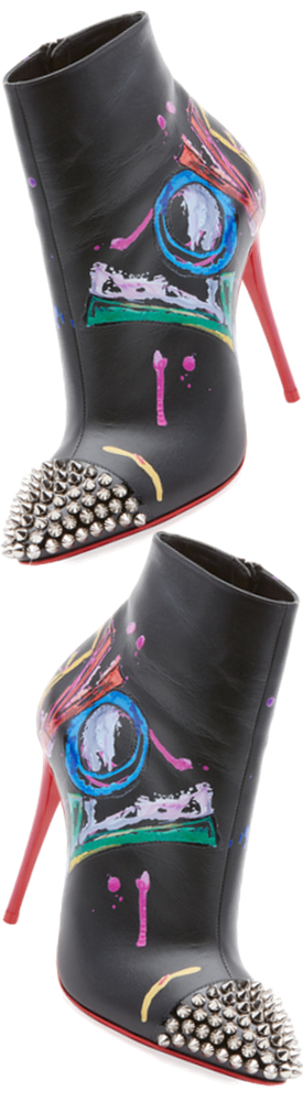 Christian Louboutin Love Is A Boot Red Sole Bootie