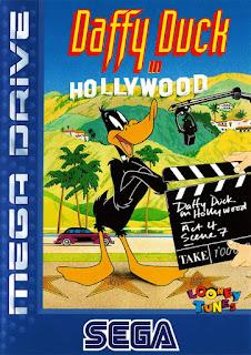 Jogue Daffy Duck in Hollywood para Mega Drive