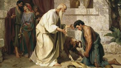 Passagem do filho prodigo é uma lição de como o perdão é o conhecer de Deus