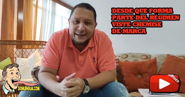 El Diputado Alacrán José Brito se molestó al ser descubierto con 10 guardaespaldas